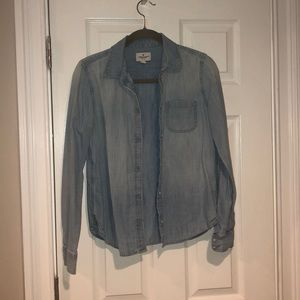 American Eagle Jean Buttoned Shirt